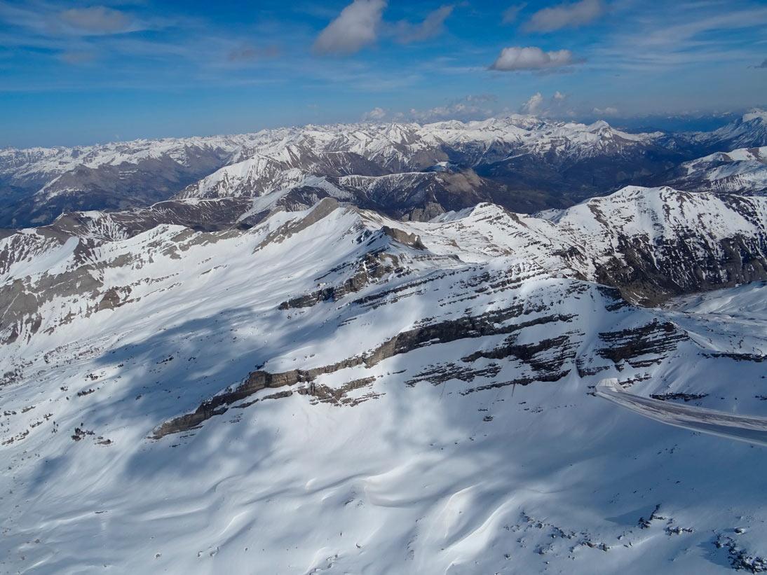 Über de französischen Alpen